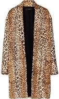 Ellery •ellery• Mariel Leopard-Print Goat Hair Coat