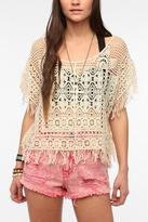 Urban Outfitters Ecote Island Crochet Kaftan Top