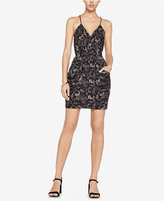 BCBGeneration Printed Spaghetti-Strap Dress