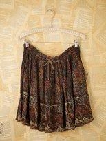 Namaste Vintage Short Indian Printed Skirts