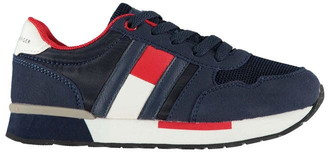 Tommy Hilfiger Low Flag Lace Trainers