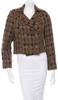 Christian Lacroix Double-Breasted Woven Jacket