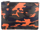 Givenchy Camouflage Leather Clutch