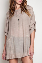 Umgee USA Solid Shift Tunic