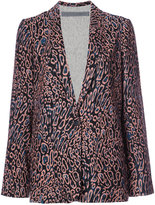 Raquel Allegra relaxed cut blazer - women - Silk - 0