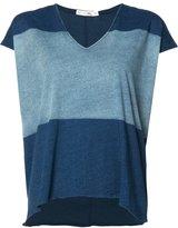 Rag & Bone V-neck loose-fit T-shirt - women - Cotton - S