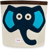 3 Sprouts Blue Elephant Storage Bin