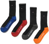 Tommy Hilfiger Men's 4 Pack Cushion Crew Sock
