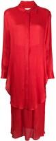 Mara Hoffman layered shirt dress