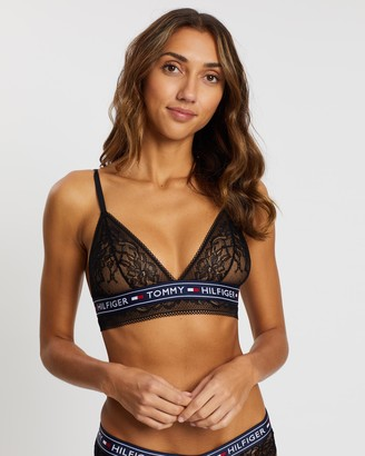 Tommy Hilfiger Authentic Lace Triangle Bra