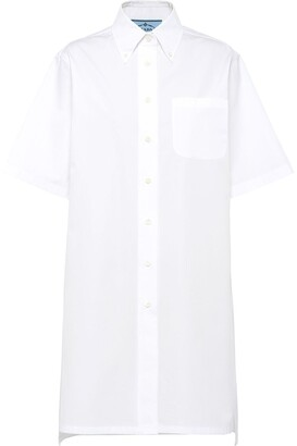 Prada Button Down Shirt Dress