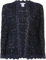 Oscar de la Renta embroidered jacket - women - Silk/Wool/Polyester - S