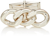 Barneys New York MEN'S STERLING SILVER CURB-CHAIN CUFFLINKS