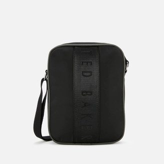 Ted Baker Men's Inland Branded Satin Nylon Flight Bag