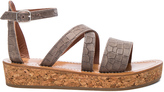 K. Jacques Leather Thoronet Sandals