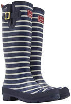 Joules Women's French Navy Stripe Wellies