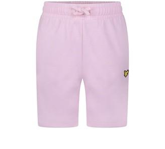 Lyle & Scott Boys Classic Sweat Short Pink