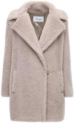 Max Mara Teddy Alpaca Wool & Silk Coat