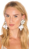Ranjana Khan Flower Earring in White.