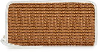 Mali & Lili Kyla Honor Basket Weave Wallet