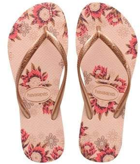 Havaianas Slim Organic Rubber Thong Sandals