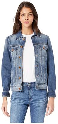 AG Jeans Mya Jacket (Azure Action) Women's Coat