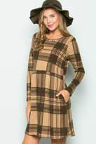 Sweet Pea Plaid Dress