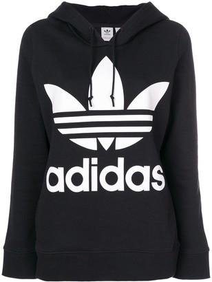 adidas Trefoil regular-fit hoodie