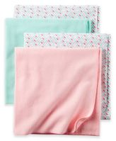 Carter's Pink Blossom 4-Pack Blankets