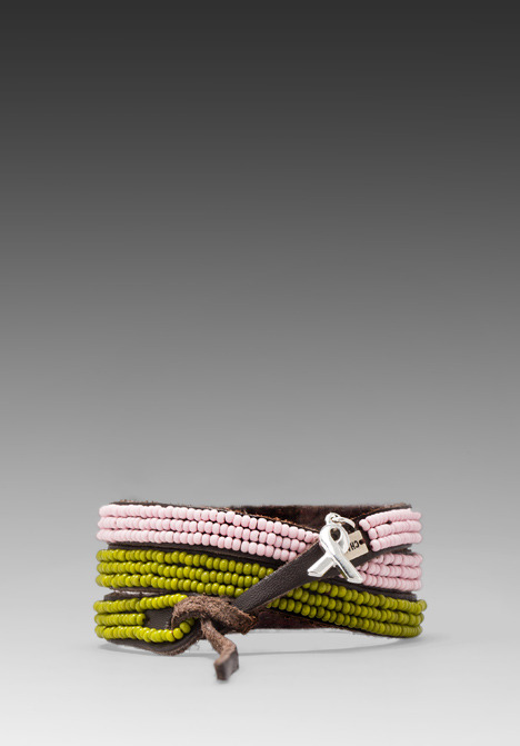 Chan Luu for Breast Cancer Bracelet