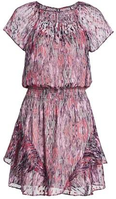 Parker Bati Smocked Waist Mini Dress