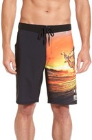 Hurley Men's Phantom Clark Little King Kame Board Shorts