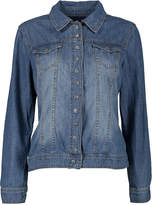 Live A Little Blue Stone Wash Denim Jacket