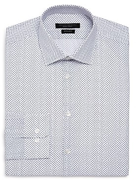 John Varvatos Scattered Print Regular Fit Dress Shirt