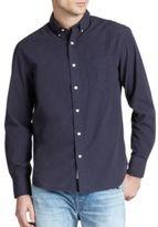 Rag & Bone Solid Cotton Shirt