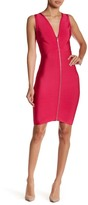 Wow Couture Woven Back Bodycon Dress