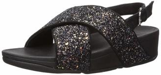 FitFlop Women's Lulu Glitter Back-Strap Sandals Ankle