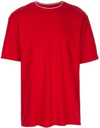 Supreme stripe rib waffle T-shirt