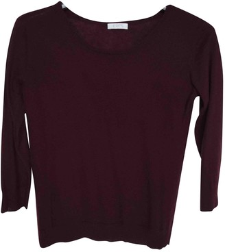Eres \N Burgundy Cashmere Knitwear for Women