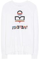 Etoile Isabel Marant Isabel Marant, Étoile Kaoa printed linen long sleeve T-shirt