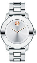 Movado Bold Mid-Size Stainless Steel Analog Bracelet Watch