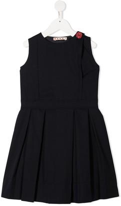 Marni Button-Embellished Dress