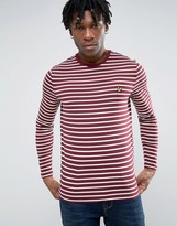Lyle & Scott Ls Crew Neck Bretton Stripe Tshirt