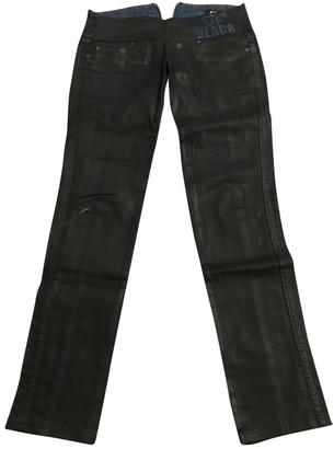 John Galliano Black Cotton Jeans for Women