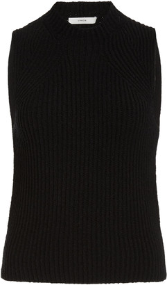 Vince Ribbed Cotton-Knit Sweater