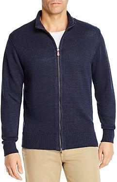Inis Meáin The Classics Linen Full-Zip Sweater