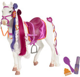 """Our Generation Hair play 20"""" horse"""
