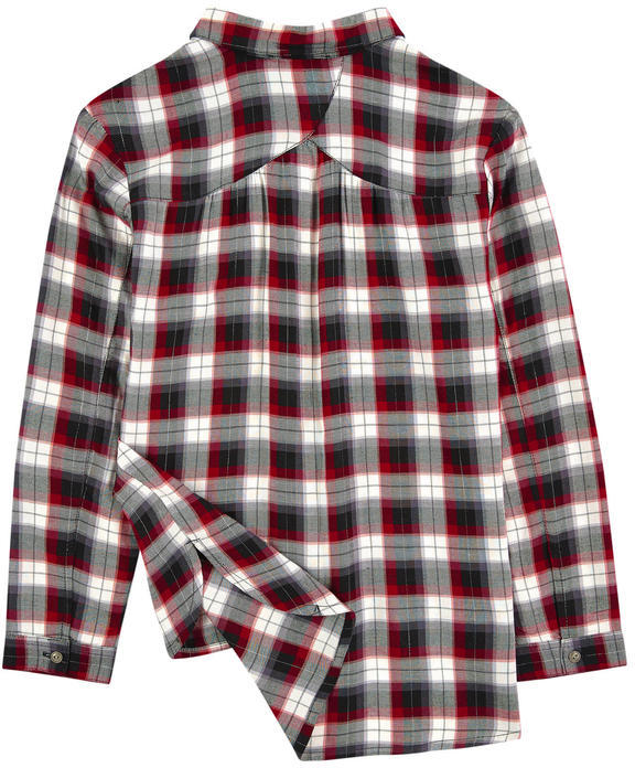 Mayoral Checked flannel shirt