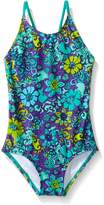 Kanu Surf Toddler Girls Karlie Flower One Piece Swimsuit