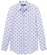 Banana Republic Dillon-Fit Polka Dot Shirt